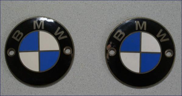 emaillierte Tankembleme von BMW
