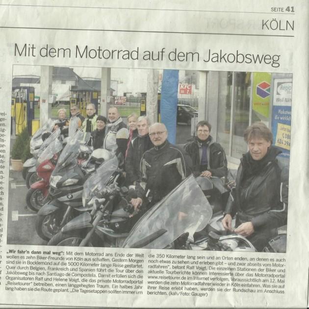 Jakobsweg per Motorad | reisecruiser.de