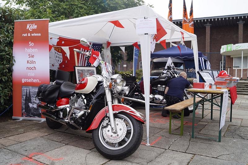 Rut & Wiess auf dem Harley Dome Cologne 2014