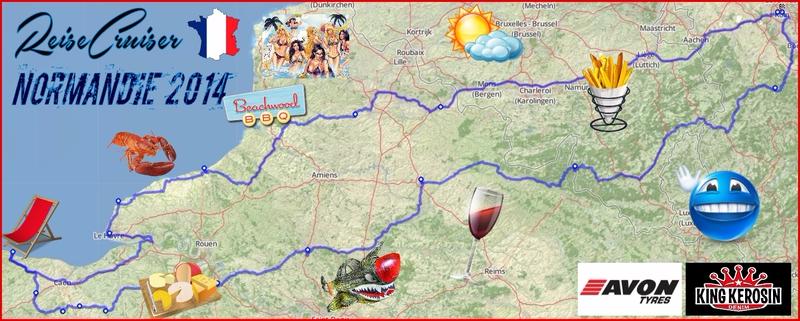 Normandie | Motorradreise | reisedcuiser.de