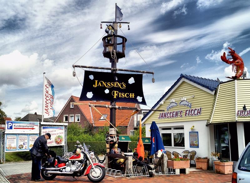 Janssen's Fisch - die Topadresse an der Nordsee !