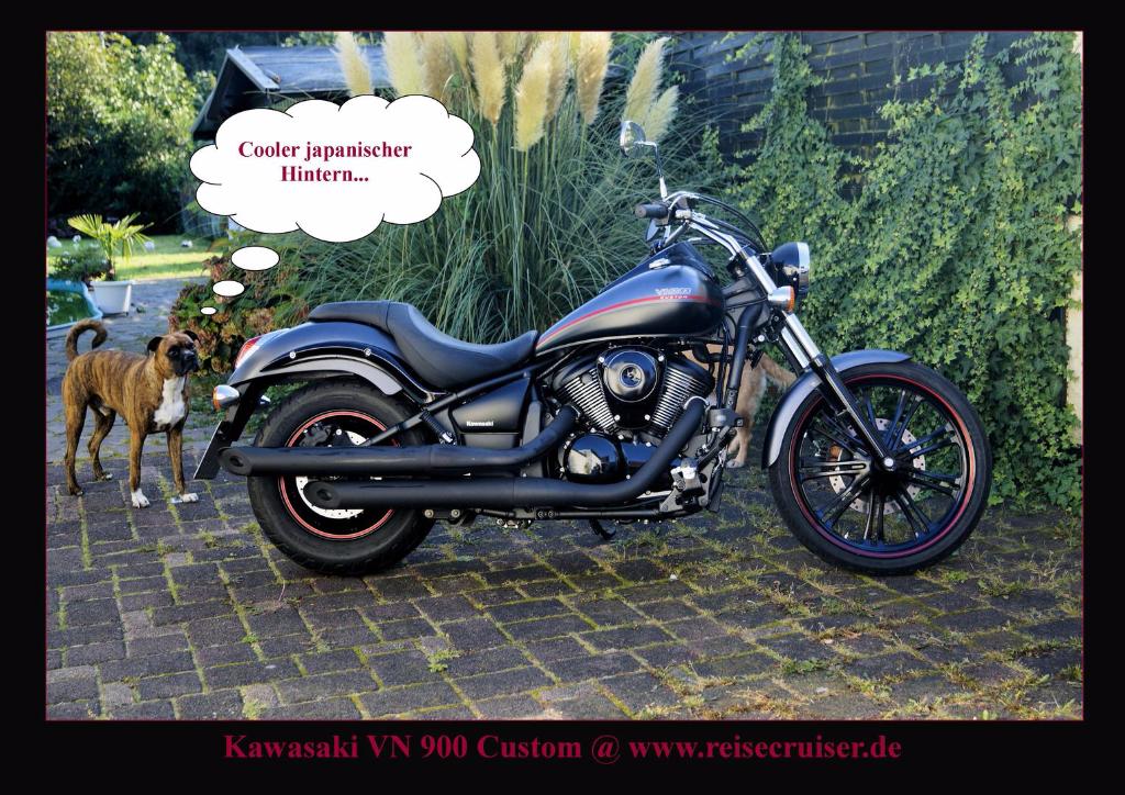 Kawasaki VN 900 Custom @ reisecruiser.de