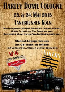 reisecruiser.de @ Harley Dome Cologne 2015