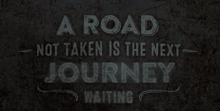 A Road not taken...(© by THE ROKKER COMPANY)