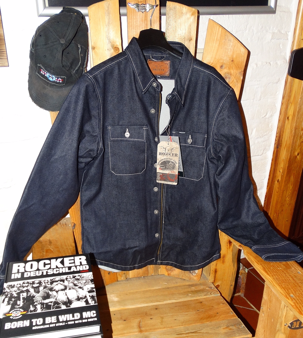 THE ROKKER COMPANY - Rider Shirt Raw @ reisecruiser.de