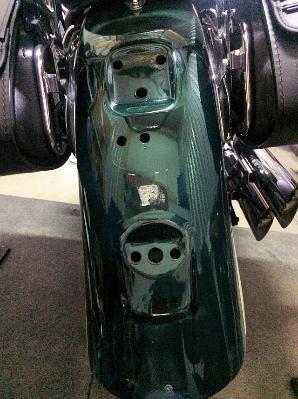 Heckfender VT 1100 Aero