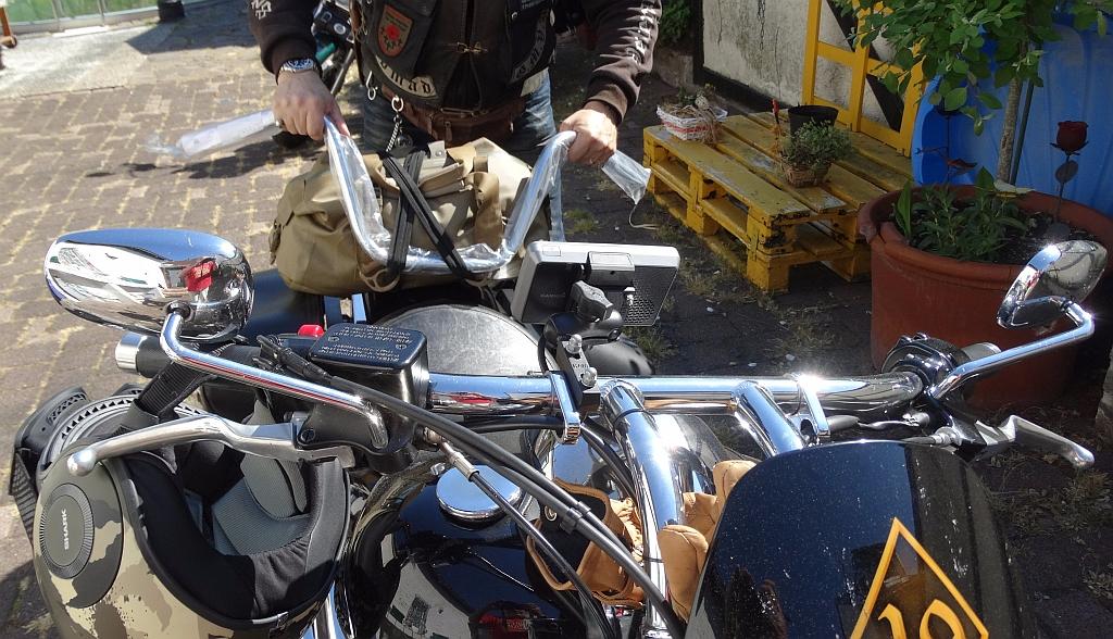 Motorradlenker von Fehling