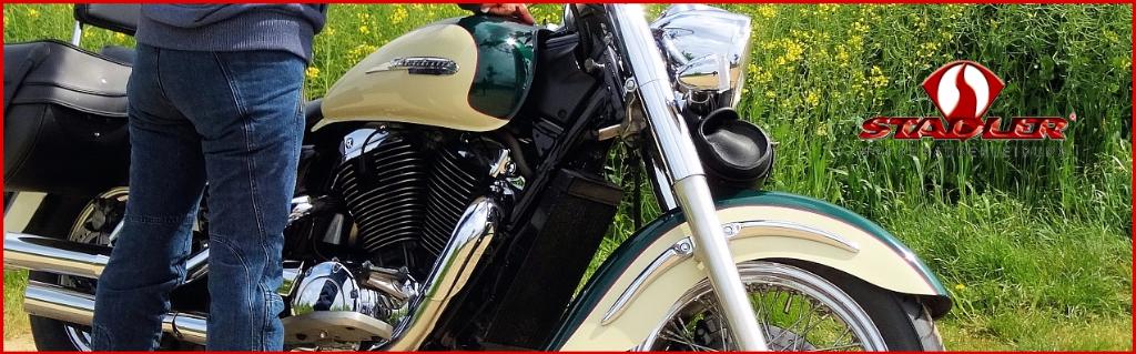 """Testbericht Motorradhose """"Fire"""" von STADLER"""