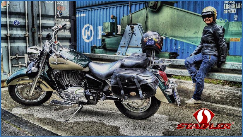 """STADLER Motorrad-Lederjacke """"Spirit"""""""