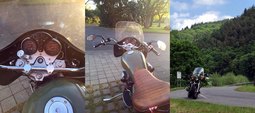 FEHLING Lenker an Moto Guzzi