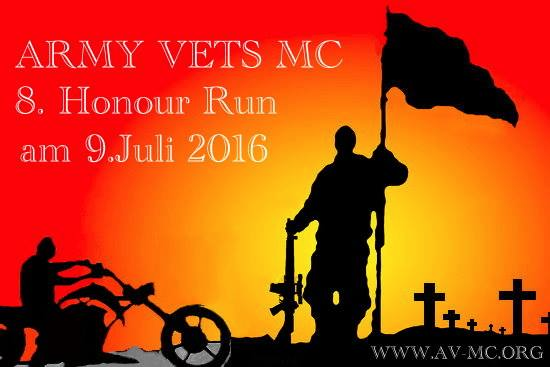 Army Vets Honour Run 2016 - © Army Vets MC