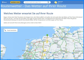 Routenwetter