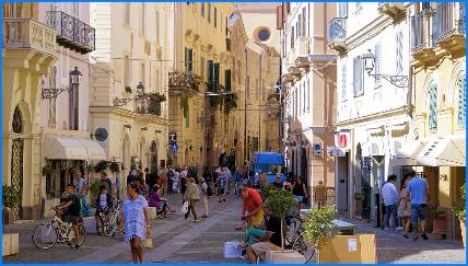 Die Altstadt von Alghero