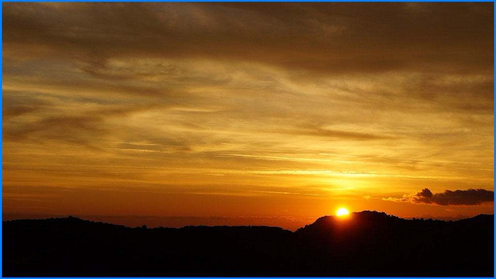 Sonnenuntergang auf Sardinien...
