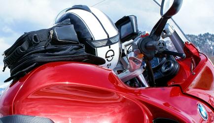 K 1200 RS mit No Name Tankrucksack