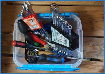 Werkzeugsammlung à la Baumarktschnäppchen