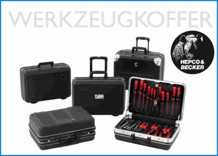 Hepco & Becker Werkzeugkoffer gibt es in vielen Variationen