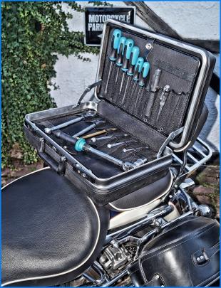 X-Protect von Hepco & Becker mit HAZET-Werkzeug