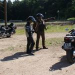 Motorradreise rund um Deutschland - Grenzerfahrung 2010